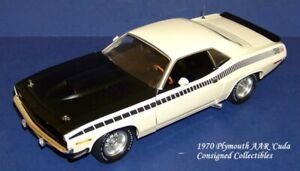Danbury Mint 1970 PLYMOUTH AAR 'CUDA by ACME 1/18 MIB!