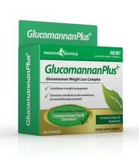 Glucomannan Plus Konjac Appetite Suppressant 60 Capsules Evolution Slimming