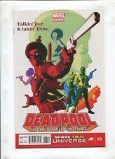 "DEADPOOL #13 - ""TALKIN' JIVE & TAKIN' LIVES!""- (9.2) 2013"