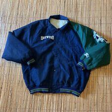Vintage Diamond Collection Starter Milwaukee Brewers Baseball Jacket Mens L/XL