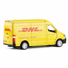 1:36 Mercedes Benz Sprinter DHL Express Van Model Car Metal Diecast Vehicle Gift