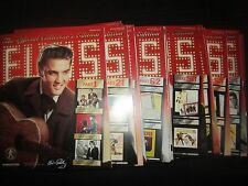 Elvis Presley memorabilia lot deagostini Official collectors 15 magazines .