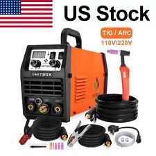 Led Tig Welder 110200v Dual Volt Inverter Hf Tig Mma Stick Arc Welding Machine