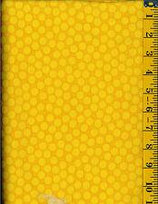 Rainy Days Nights Noahs ArkCotton quilt fabric Yellow Tonal 3/4