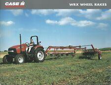 Farm Equipment Brochure - Case IH - WRX 201 301 - Wheel Rake - 2003 (F6249)