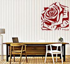 Vinyl Decal rose bud gorgeous flower Wall Sticker (n616)