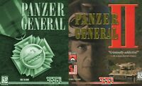 PANZER GENERAL I & II 1 & 2 +1Click Windows 10 8 7 Vista XP Install
