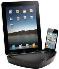 iPad, iPhone & iPod 2.1A 10W PowerDock Dual Docking 30 Pin Charger Black GC23126