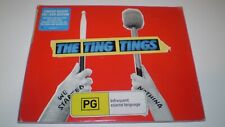 THE TING TINGS - We Started CD DVD 2 Discs 2008 Deluxe Edition Sony U.K.