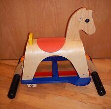 PlanToys Lusitano Rocking/Glider Horse - Preowned