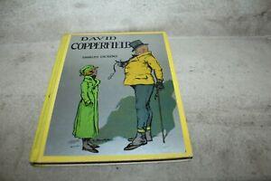 L'ENFANCE DE DAVID COPPERFIELD PAR CHARLES DICKENS ILLUSTRE TOUCHET 1936