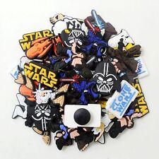 50pcs Star Wars Shoe Charms Decoration For Croc Jibbitz Bracelets Kids Gifts