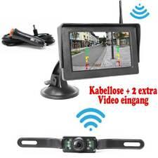 Kabellose Funk Rückfahrkamera + Monitor KFZ PKW Auto Transporter Camera Kamera