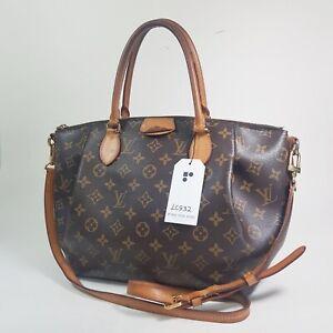 Authentic Louis Vuitton Turenne MM Monogram M48814 Shoulder Bag Guaranteed LC932