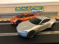 Scalextric Digital James Bond Spectre Jaguar C-X75 & Aston Martin DB10 Mint*