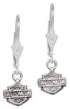 Harley-Davidson Women's Bar & Shield Dangle Earrings HDE0088