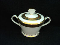 Noritake Golden Mastery - Covered Sugar Bowl Brand New