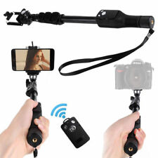 Solid Extended Wireless Contorl Bluetooth Selfie Stick Pole for Gopro Hero 3 4