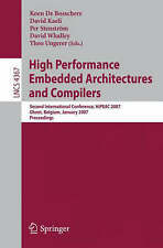 High Performance Embedded Architectures and Compilers: Second International Con