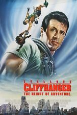 "Cliffhanger movie poster  : 11"" x 17"" - Sylvester Stallone poster"