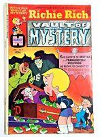 Vintage 1975 RICHIE RICH VAULT OF MYSTERY  #2 comic book Harvey Comics