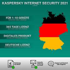 Kaspersky Internet Security 2021 DE [1PC / 2PC / 3PC / 5PC / 10 GERÄTE / KEY ]
