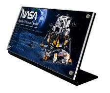 LEGO 10266 NASA Apollo 11 Lunar Lander - CUSTOM ACRYLIC DISPLAY STAND