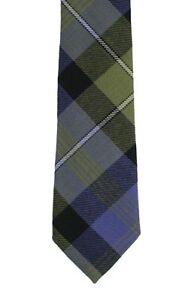 Rennie Wool Tartan Tie in Modern Width - Made in the UK (6-W109/43)