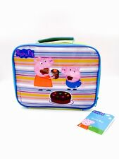 Back to School Peppa Pig Yellow Boys & Girls Insulated Lunch Bag 25cm