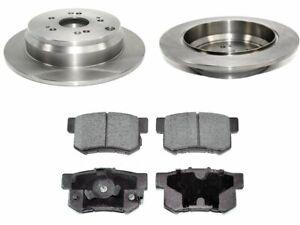 For 2005-2016 Honda CRV Brake Pad and Rotor Kit Rear 98644SD 2011 2014 2006 2007