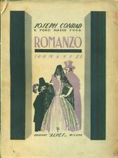ROMANZO - ROMANCE  CONRAD - FORD ALPES 1928