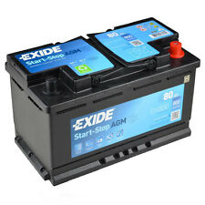 Exide EK800 Start | Stop AGM VRLA Autobatterie 80Ah
