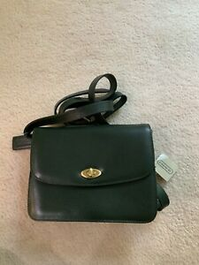 BRAND NEW WITH TAGS VINTAGE LE COACH MADISON COLLECTION GREEN SPENCE BAG