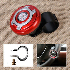 2in1 Car Wheel Steering Power Handle grip Knob Power Ball & Navigation Compass