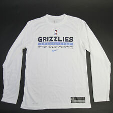 Memphis Grizzlies Nike Nike Tee Long Sleeve Shirt Men's White New without Tags