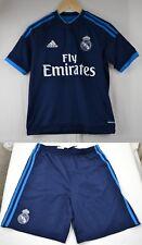 Real Madrid FC Lejos Pantalones Cortos Camiseta De Fútbol Adidas 13-14 L Grande Top Jersey De La Juventud