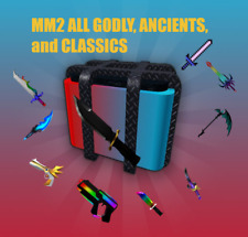 Roblox MM2 Murder Mystery 2 ALL GODLYS/ANCIENTS/VINTAGES💖(CHEAP and FAST)💖