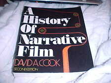 A History of Narrative Film, 1889-1979 by David A. Cook (1981, Hardcover)2/16/16