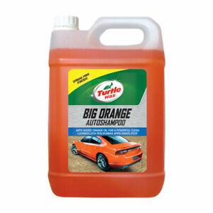 5L TURTLE WAX BIG ORANGE CAR WASH SHAMPOO CLEANING WASH 5 LITRE
