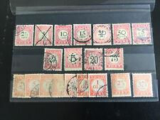 Nederlands Indie, Portzegels, Selectie, CW €48,30