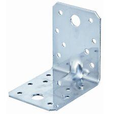50 Winkelverbinder mit Steg Holzverbinder Bauwinkel Winkel verzinkt 70x70x55