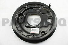 4704435140 Genuine Toyota PLATE SUB-ASSY, BRAKE BACKING, REAR LH 47044-35140