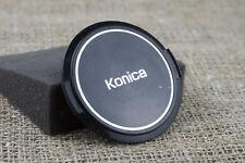 Konica 55mm lens front cap cover Metal fit 35mm 50mm Canon Nikon Minolta Pentax