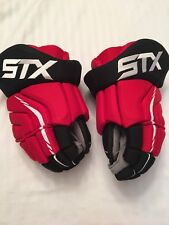 STX Ice Hockey Gloves - NJ Devils pro stock - barely used