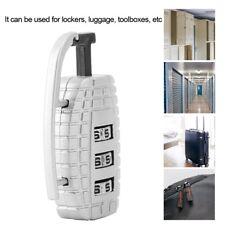 Grenade lock 3 Combination Luggage Lock Suitcase Handbag Padlock Zinc Alloy