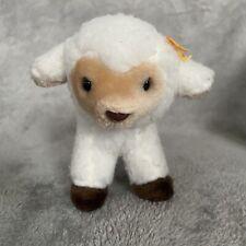"Mary Meyer 6"" Lamb Sheep While Brown Plush Stuffed Animal"