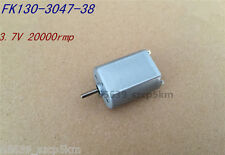 New 130 DC3.7V 20000RPM High Speed HM Carbon Brush DC Motor for DIY Accessories