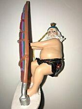 "Vintage Christmas Ornament ""Wind Surfing Santa"""