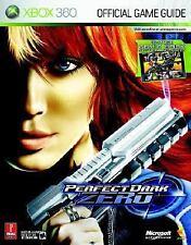 PERFECT DARK ZERO Xbox 360 Prima's Official Strategy GAME GUIDE Book