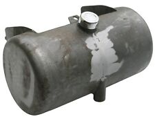 Ultima 3.5 Raw Metal Center Fill Round Oil Tank for Wide Softail Frames